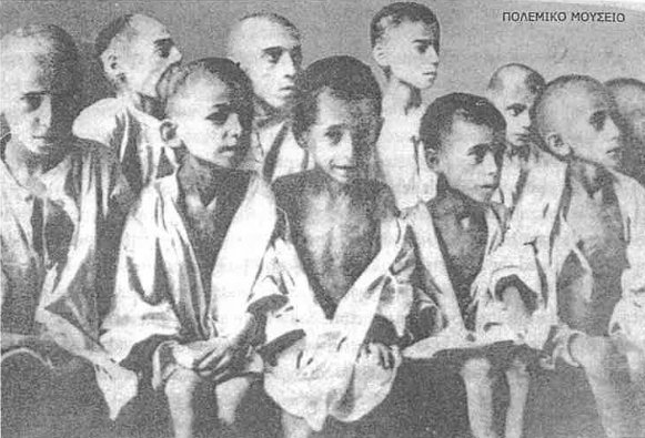 hungry greek orphan children