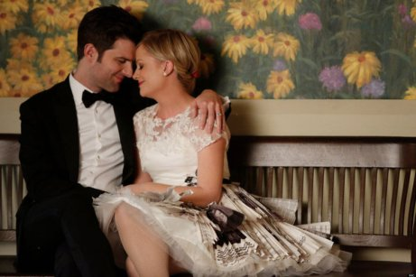 Image result for parks and recreation ben and leslie