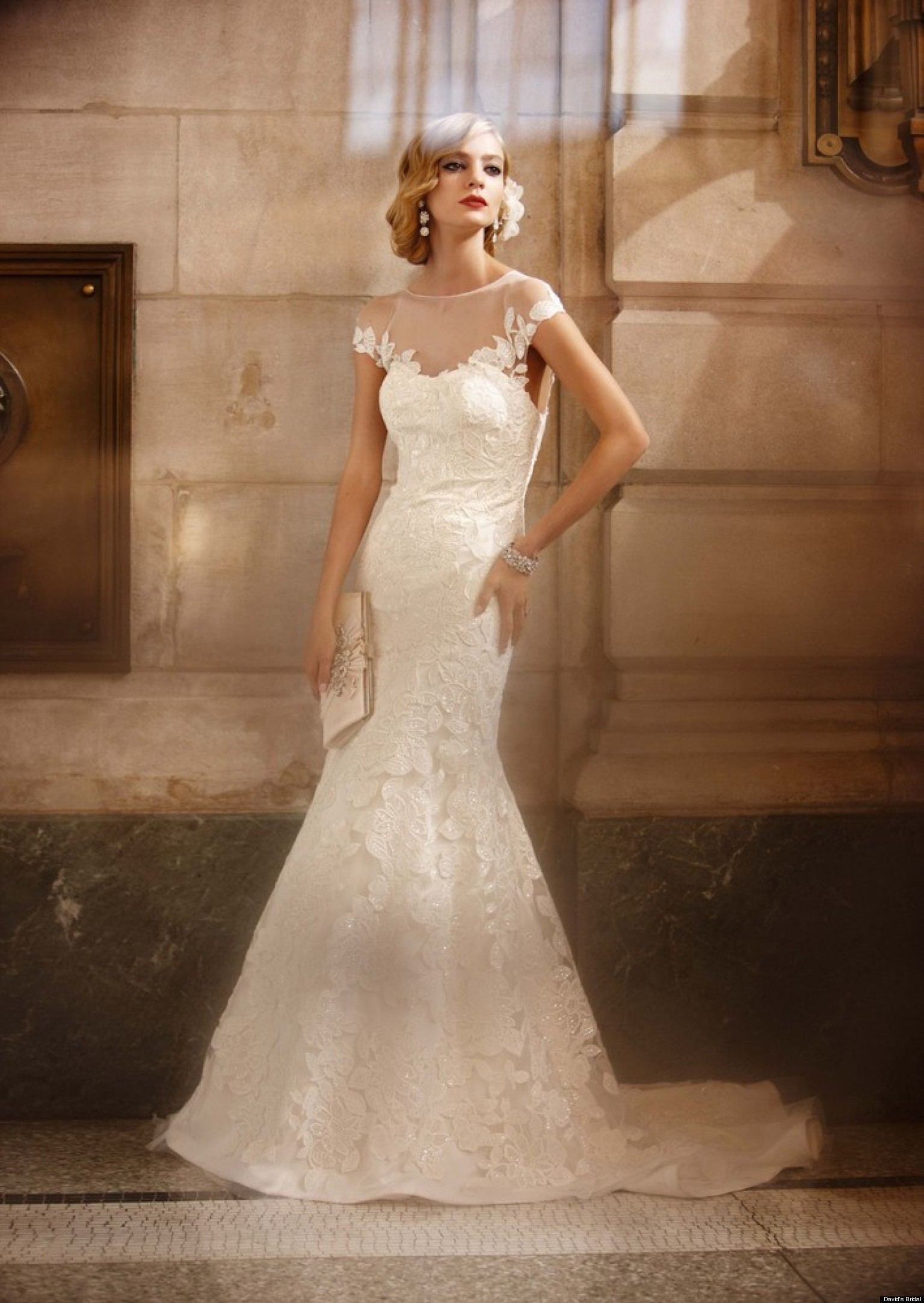 davids bridal wedding dresses n davids bridal wedding dresses David s Bridal Wedding Dresses HuffPost Weddings Editors Picks PHOTOS HuffPost