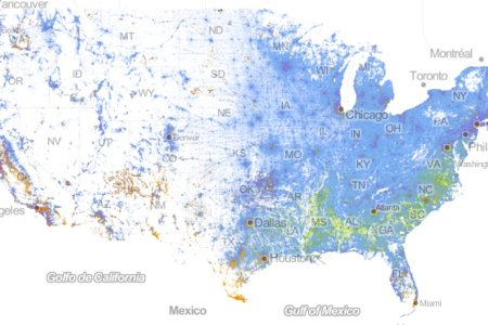 incredibly detailed map shows race, segregation across