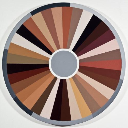 Medium Of Color Wheel Paint