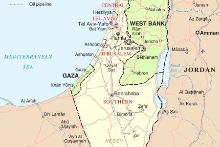 Map israel palestine palestine map israel palestine map israel map1 israel map gumiabroncs Gallery