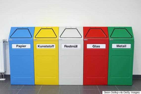 recycling bins germany