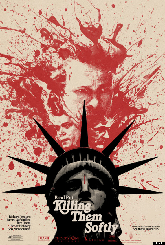 killing them softly mondo poster
