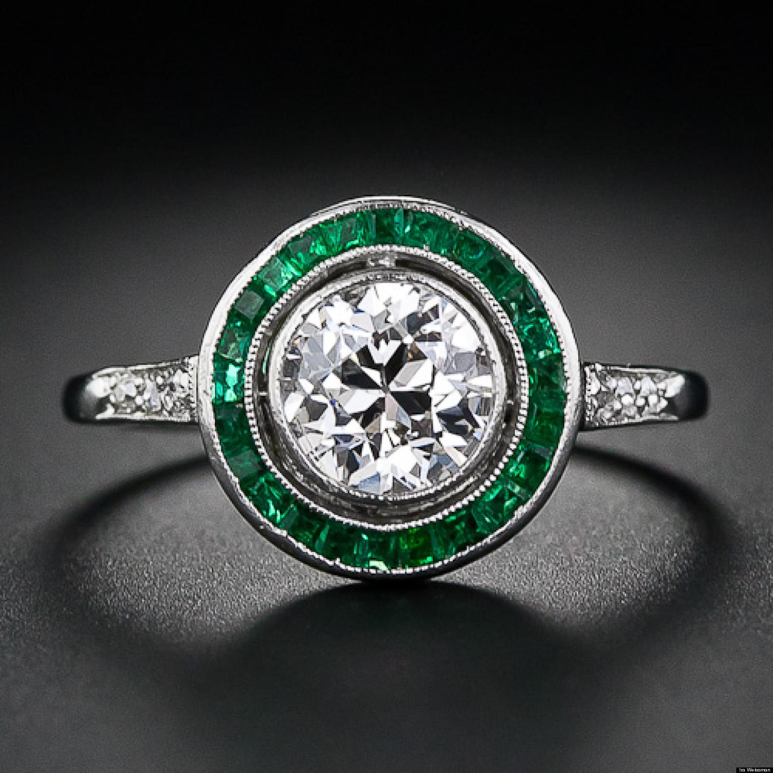 emeralds the hotest engag b emerald wedding rings