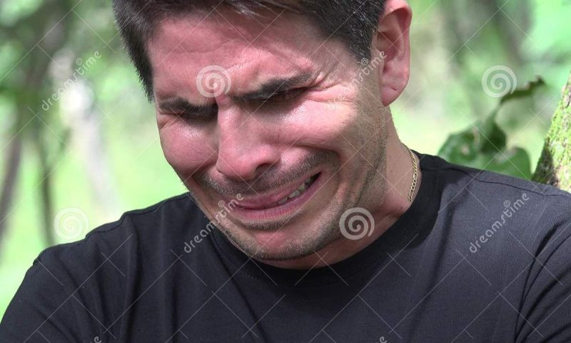 Large Of Crying Man Meme