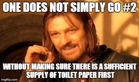 One Does Not Simply Go #2