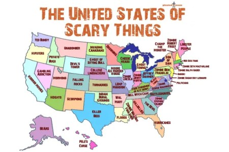 handy map of the united states showing the scariest thing