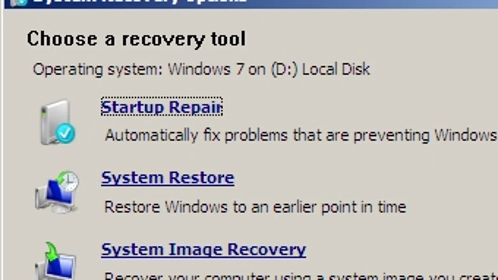 Extraordinary Windows Recovery Discs Gets Your System Out Tight Spots Easy Recovery Essentials Windows 7 Review Neo Technologies Easy Recovery Essentials Review dpreview Easy Recovery Essentials Review