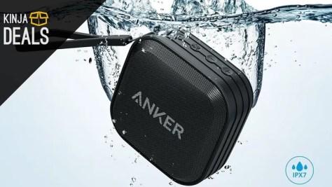 Anker's New Waterproof Bluetooth Speaker Just Got Its First Discount