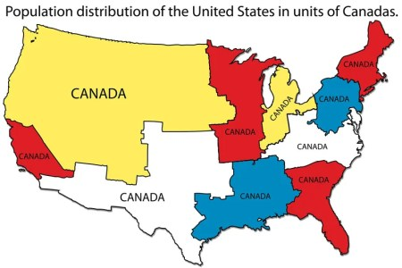 population distribution of the united states, mered in