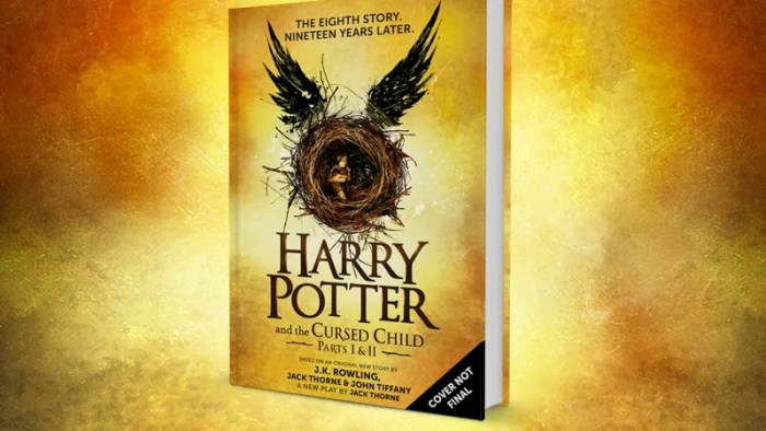 The Harry Potter Play Will Become the Eighth Harry Potter Book in July