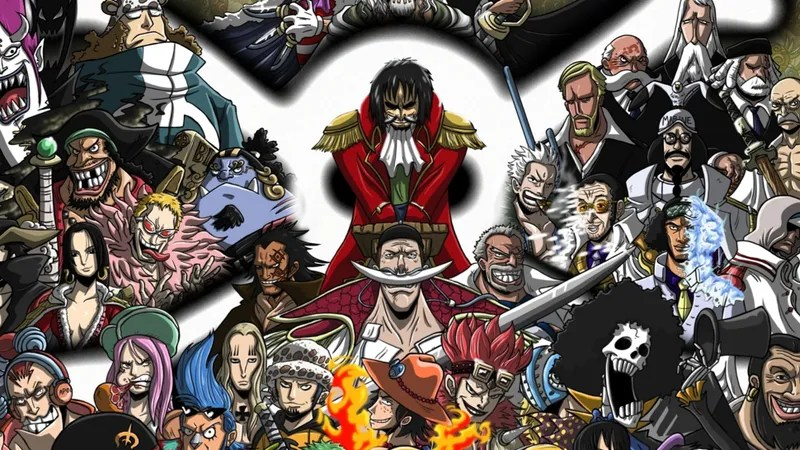One Piece Characters Look Very  Very Familiar