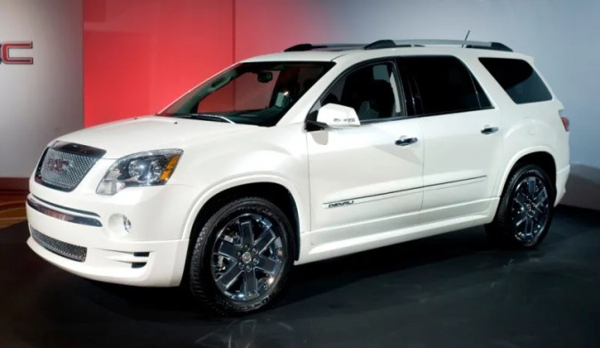 2011 GMC Acadia Denali  How The Hell Do You Spend  40K On A GMC         GM has two kinds of cars  the genuinely world beating     like the  Cadillac CTS V  and the woefully badge engineered     like the 2011 GMC  Acadia Denali