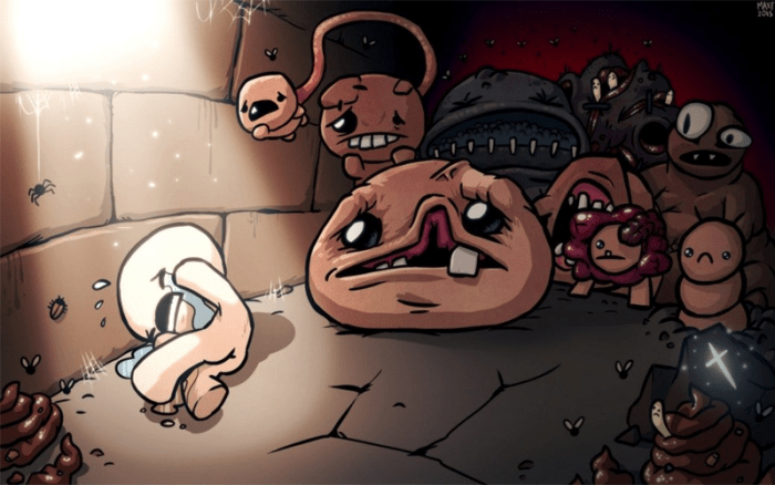 The Binding Of Isaac: RebirthRejected By Apple Due To Violence Against Children