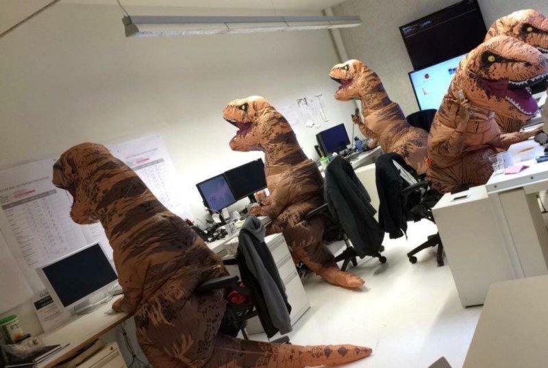 Large Of T Rex Costume
