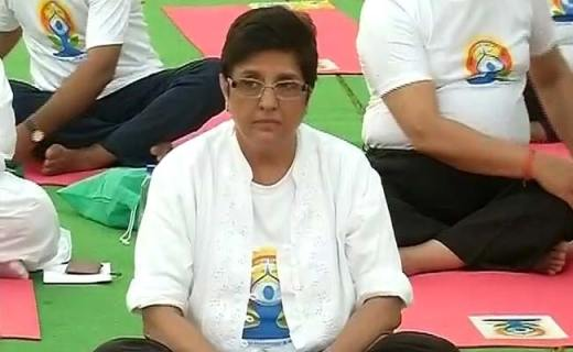 Kiran Bedi Really Stretches It, Says Mass Yoga Session Brought Rain