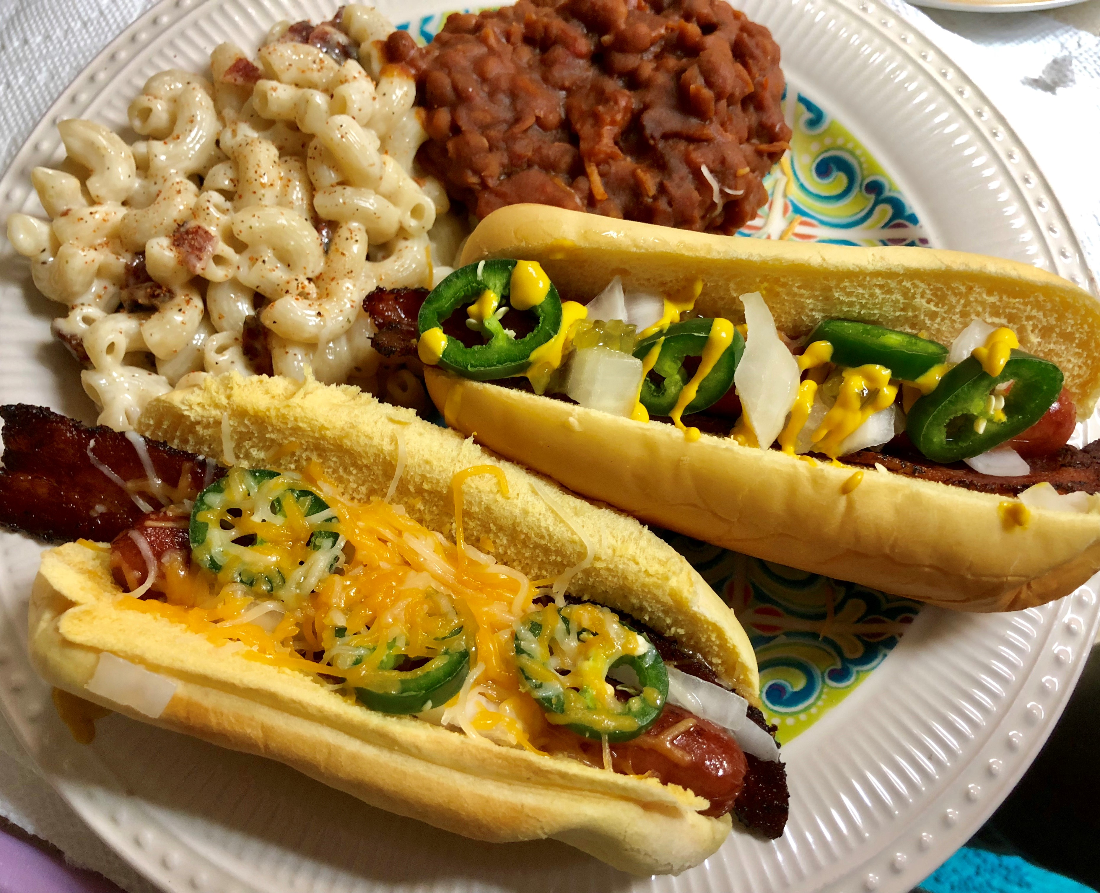 Howling Baked Beans Food Baked Hot Dog Sandwiches Baked Hot Dogs Hot Mac Potatoes Baked Hot Mac nice food Baked Hot Dogs