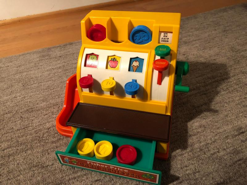 Large Of Fisher Price Cash Register