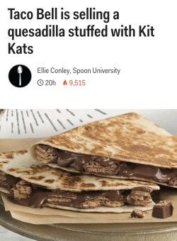 Small Of Kit Kat Quesadilla