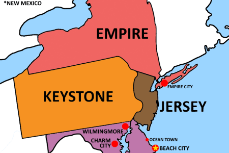 map of the united states in steven universe (version 2