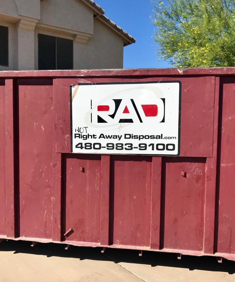 Large Of Right Away Disposal
