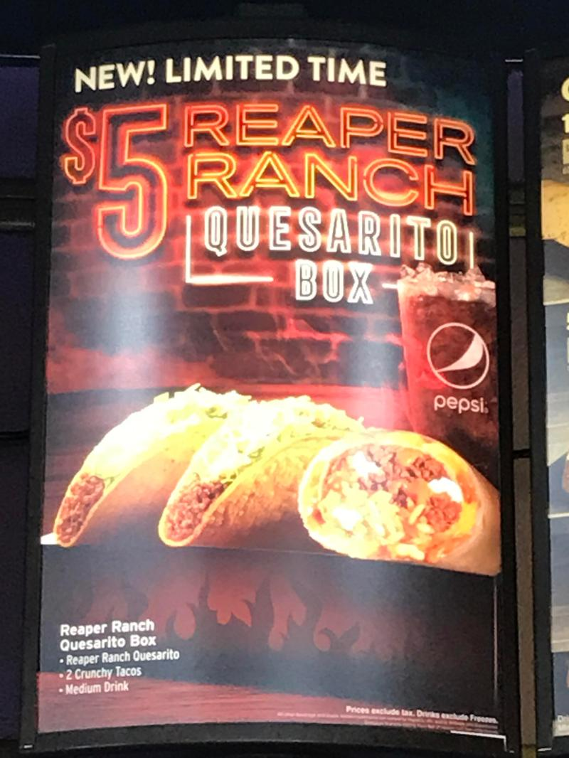 Large Of Quesarito Taco Bell