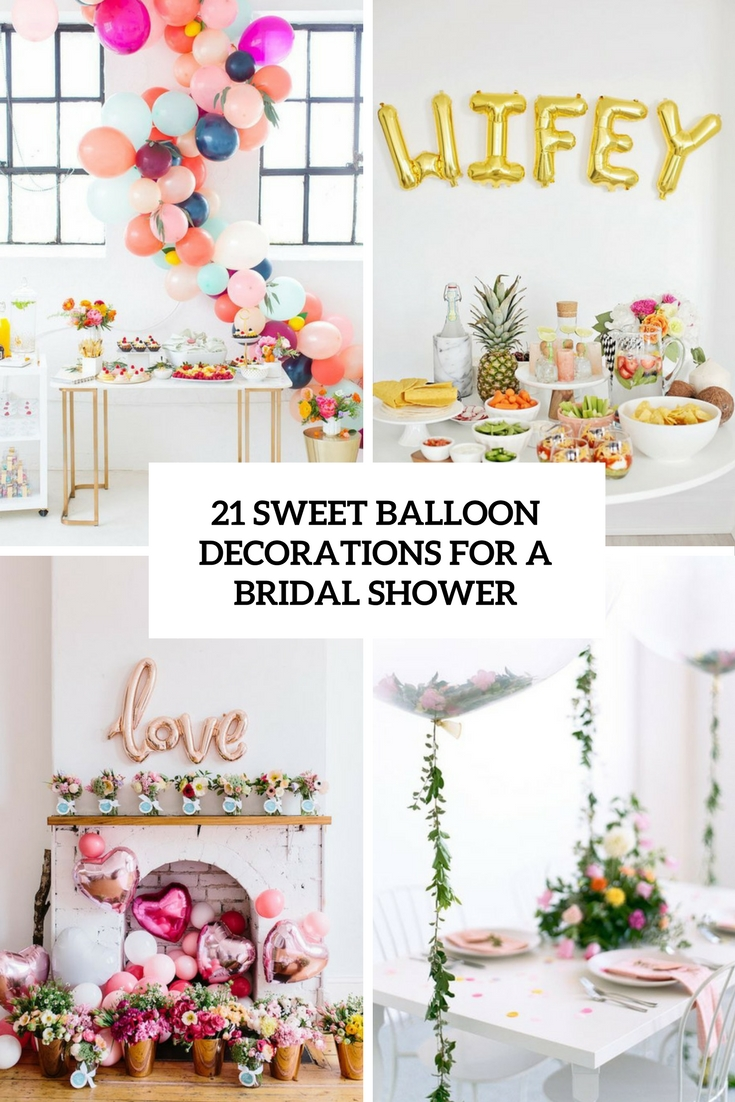 Fullsize Of Wedding Shower Decorations