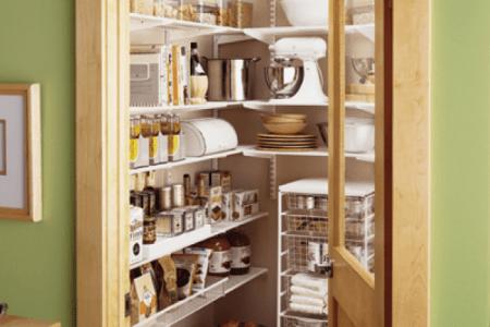 cool kitchen pantry design ideas 41
