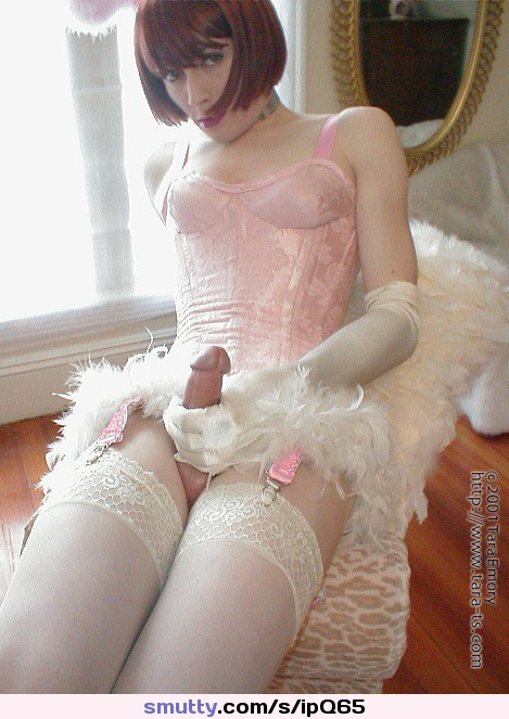 crossdresser panty erection