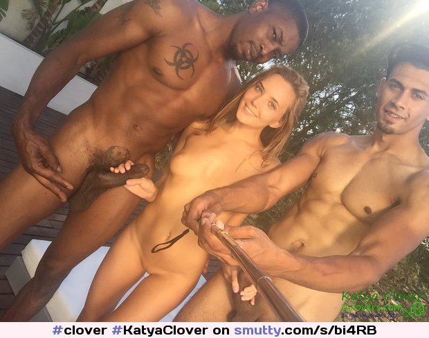Katya Clover Black Cock