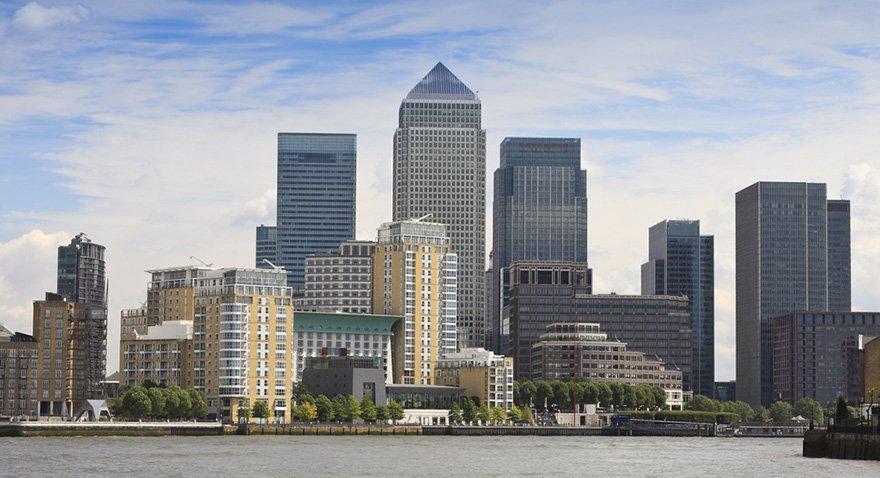 Canary Wharf bölgesine Londra'nın Maslak'ı denebilir. Fotoğraf: Shutterstock