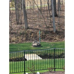 Artistic Small Backyard Improvement Ideas Backyard Home Improvement Ideas How To Hide An Sewer Vent Pole Image Description Here Landscaping Ideas