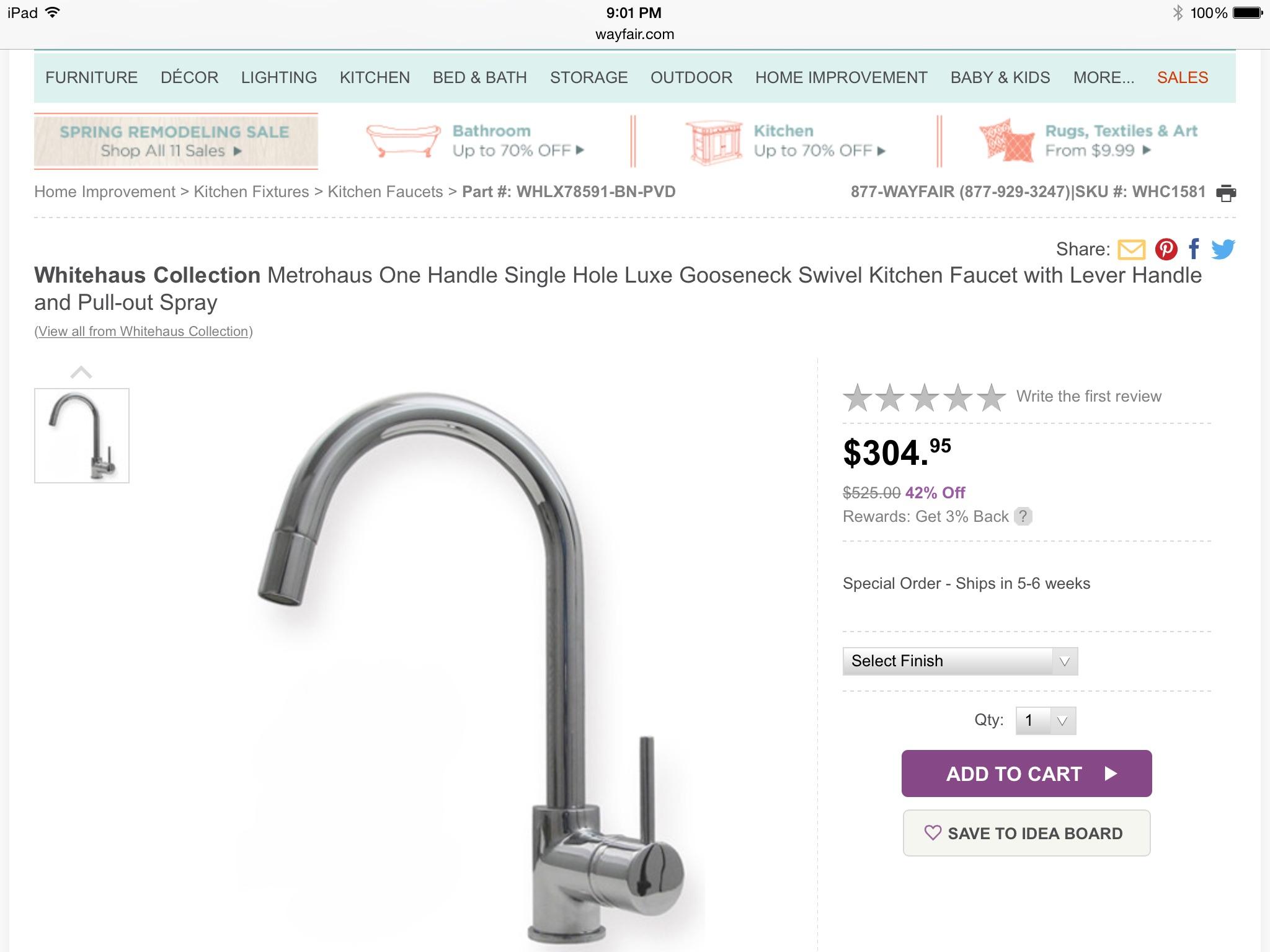 fix kitchen faucet handle leaking kitchen faucet enter image description here
