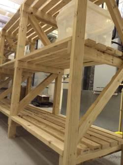 Small Of Basic Wooden Shelves