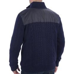 Posh Jones Impulso Cable Cardigan Sweater Wool Blend Zip Front Jones Wiki Jones Ties Bullock Bullock Mena8988m 21500 Bullock
