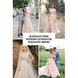 Small Crop Of Pink Wedding Dress