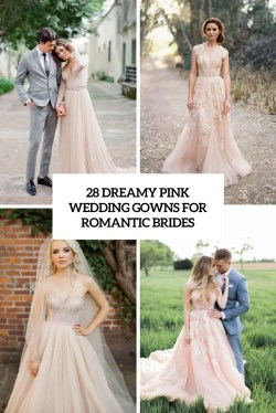 Small Of Pink Wedding Dress