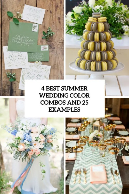 Medium Of Summer Wedding Colors