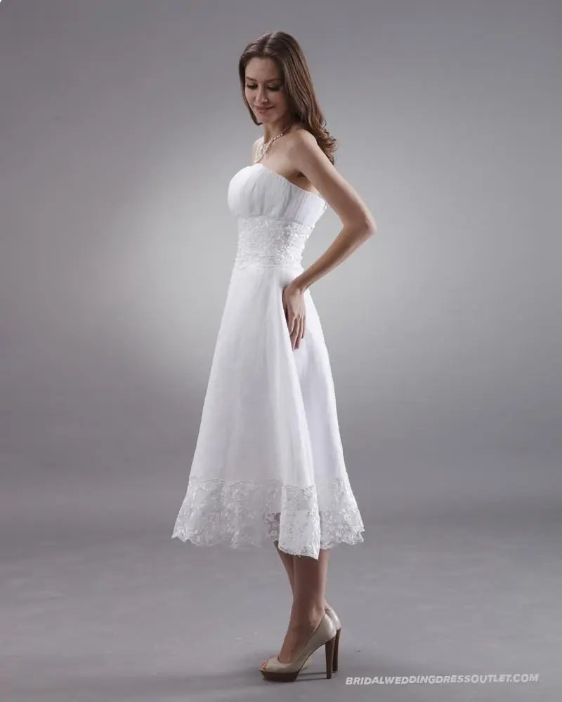 38 elegant retro tea length wedding dresses t length wedding dresses Elegant Tea Length Wedding Dresses