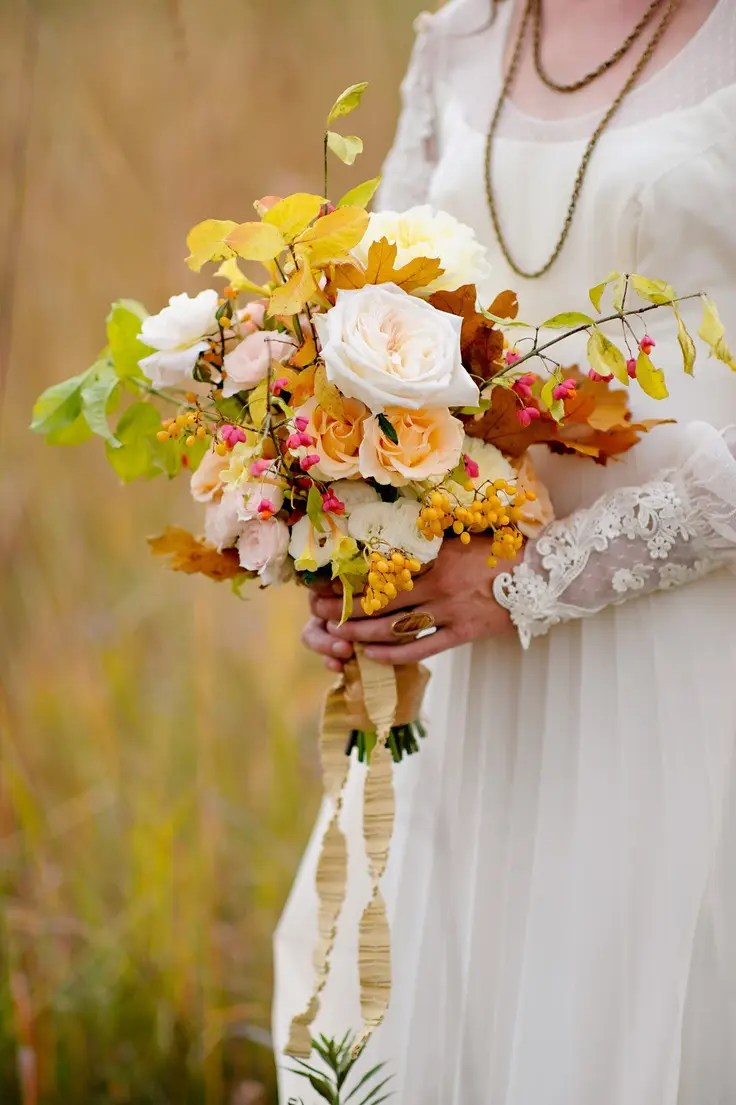 Fullsize Of Fall Wedding Bouquets