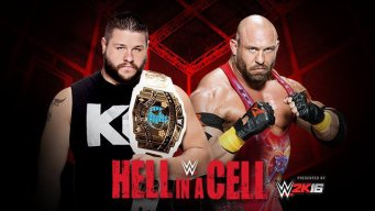 Intercontinental Champion Kevin Owens vs. Ryback at Hell in a Cell