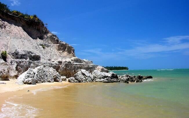 Praia do Espelho em um dos destinos mais agradáveis da Bahia