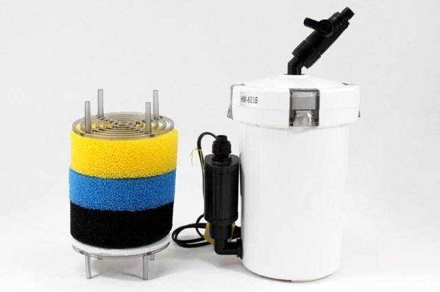 Sensen Super Quiet 6W 400L/H Aquarium Fish Tank External Filter