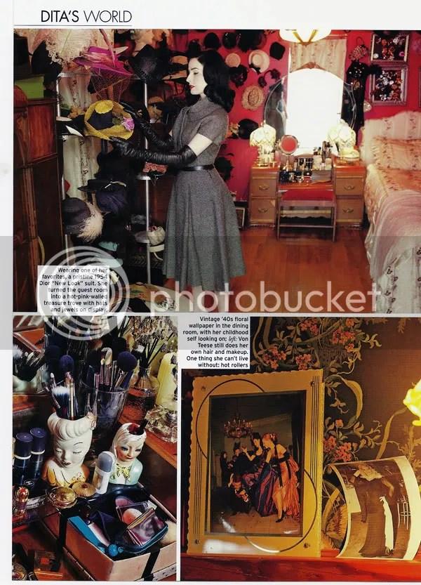 Dita Von Teese Closet