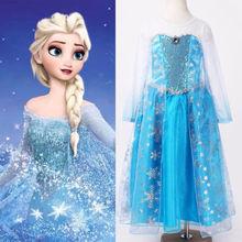 Vestidos de Halloween Aliexpress Elsa Princess