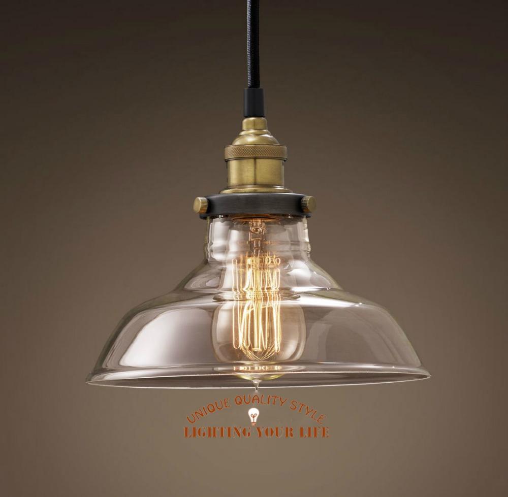 2014 vintage Hot sales Clear glass pendant font b light b font Edison font b bulbs