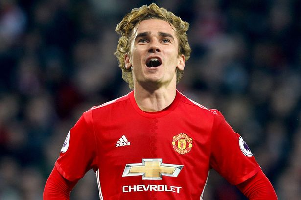 antoine griezmann could yet still wear a manchester united shirt next season image pa getty