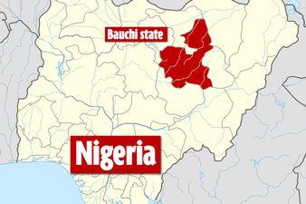 Nigeria Bauchi State map