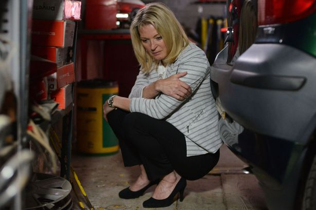 Kathy Beale (GILLIAN TAYLFORTH) in EastEnders